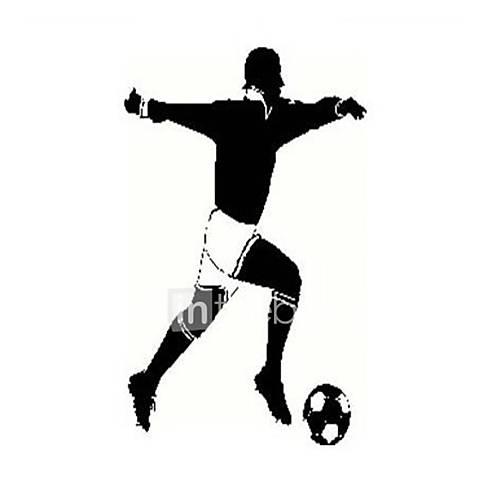 Formas abstracto deportes 3d personas pegatinas de for Pegatinas 3d pared