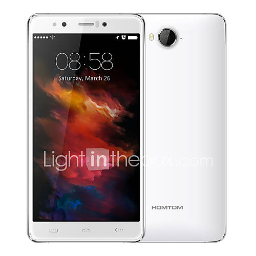 HT10 5.5 '' Android 6.0 Smartphone 4G (SIM Dual Deca Core 21 MP 4GB  32 GB Blanco Negro) Descuento en Lightinthebox