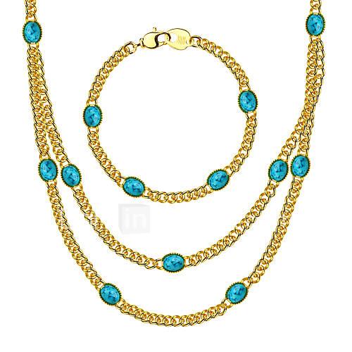 colar-pulseira-moda-turquesa-dourado-colares-bracelete-para-casamento-festa-diario-casual-esportes-1-conjunto-presentes-de-casamento