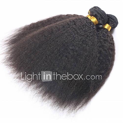 mongol cabelo virgem grossa yaki 3 unidades / lote mongolain tecer cabelo agrupa 10