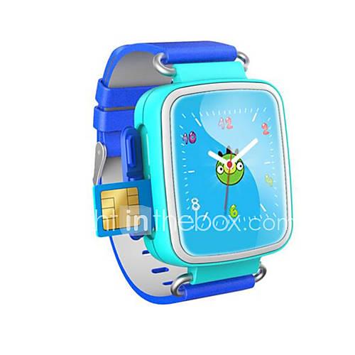 los últimos modelos pueden ser equipados con un reloj de teléfono de la tarjeta puede Posicionamiento GPS relojes de los niños Descuento en Lightinthebox