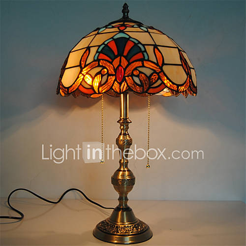 12 inch retro tiffany table lamps copper lamp body glass for 12 inch table lamp