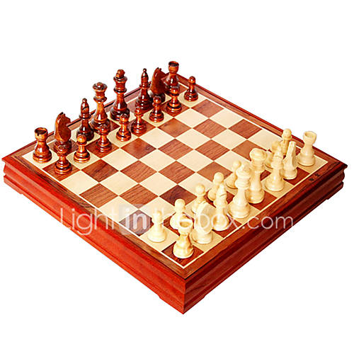 Pure Wooden Chess Large Wooden Chess Sets Students Entry