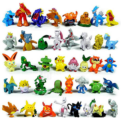 Pokemon Toys Right : Pokemon action figures pcs cute monster mini