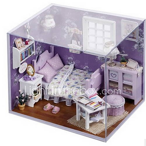 chi-fun-house-cottage-diy-doce-sol-casa-pequena-handmade-modelo-montado-dom-criativo-de-aniversario