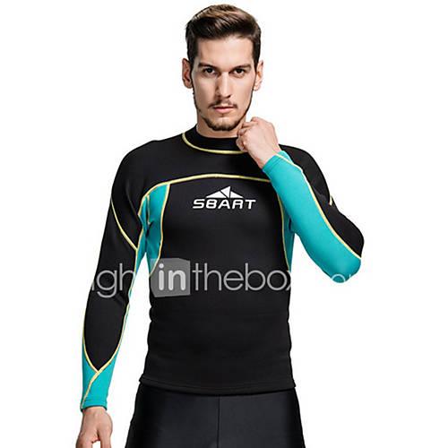 sbart-homens-2mm-roupas-de-mergulho-camisa-de-mergulho-termicoquente-compressao-tactel-fato-de-mergulho-roupas-de-mergulho-roupa