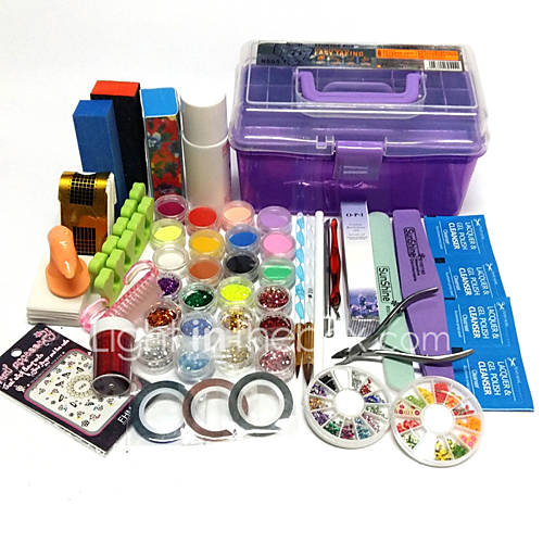 Cool Nail Art Kit : Sets nail kit art decoration accessories diy