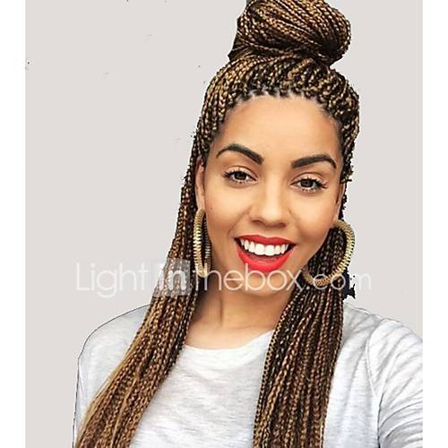 Box Braids 24 Quot Synthetic Crochet Box Braids Hair Extension