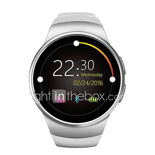 nuevo teléfono reloj inteligente W18 mtk2502c pantalla redonda de 1.3 pulgadas IPS LCD 240x240 bluetooth 4.0 de alerta anti-perdida Descuento en Lightinthebox