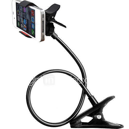 ZXD360 Degree Rotating Universal Flexible Long Arms Mobile Phone Holder Mount Lazy Clip-on Holder Stand