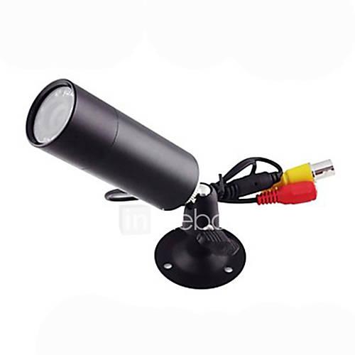 Sony Effio-e 700TVL CCD Mini bala al aire libre IR 10pcs invisible 820nm leds 0 lux cámara de visión nocturna cctv Descuento en Lightinthebox