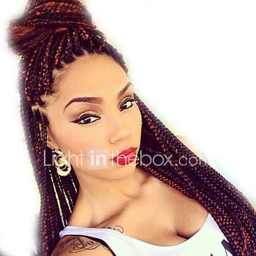 Crochet Box Braids Jumbo : Box Braids Hair 24 Crochet Hair Extensions Synthetic Crochet Braid ...