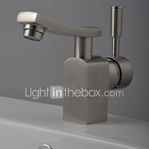 Bathroom Sink Faucet In Modern Style Single Handle Waterfall Bathroom Sink Faucet Mixer Tap
