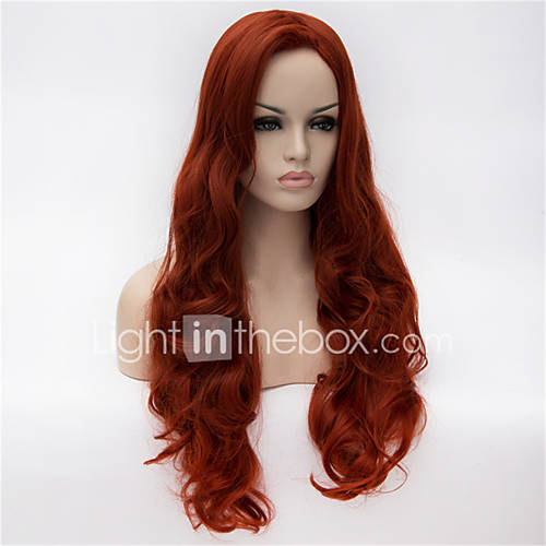 Synthetic Wig Deep Wave Side Part Women's Capless Carnival Wig Halloween Wig Long Synthetic Hair