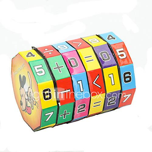 altura del rompecabezas del juguete de aprendizaje de la educación infantil para niños de cubo de 6 capas 7.2cm Lightinthebox