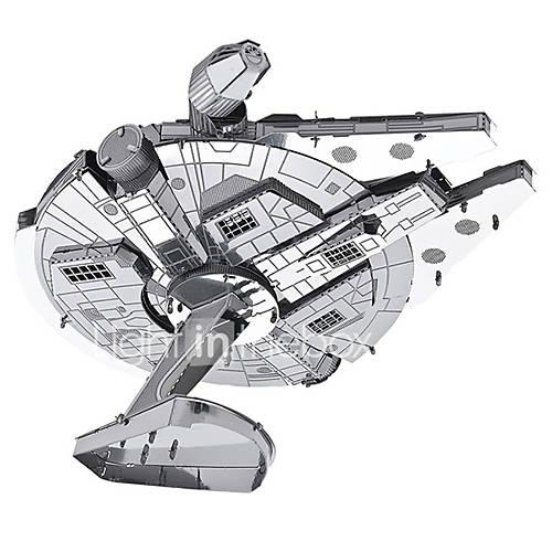 Jigsaw Puzzles 3D Puzzles / Metal Puzzles Building Blocks DIY Toys Metal Silver Model  Building Toy
