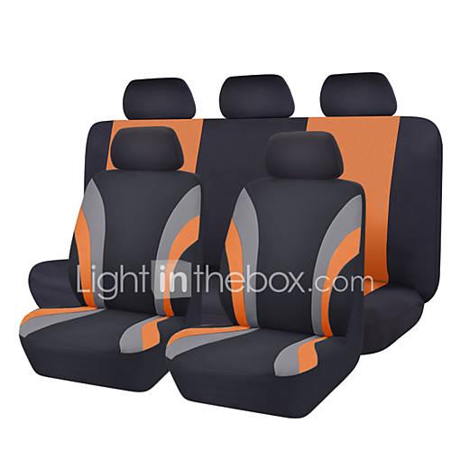 11Pcs Classics Car Seat Cover Universal Fit Most Brand Car