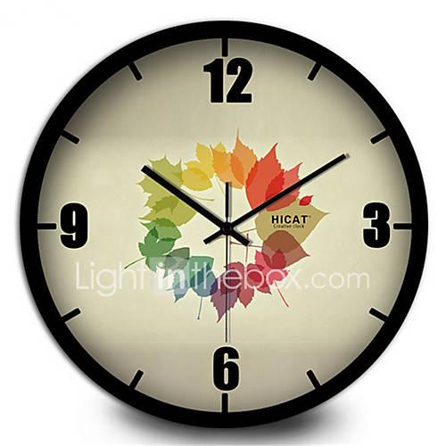 bedroom study metal home silent wall clock 5060172 2016