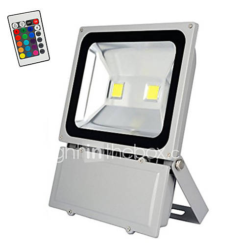 Led Landscape Lighting Controller: 100W RGB With Remote Control LED Bulbs Flood Light Outdoor