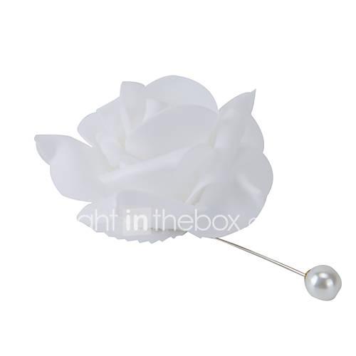 Ramos de Flores para Boda Ronda / Forma Libre Rosas / Lilas Ojales Boda / Fiesta / noche Satén / Tul / Encaje Aprox.10cm Descuento en Lightinthebox