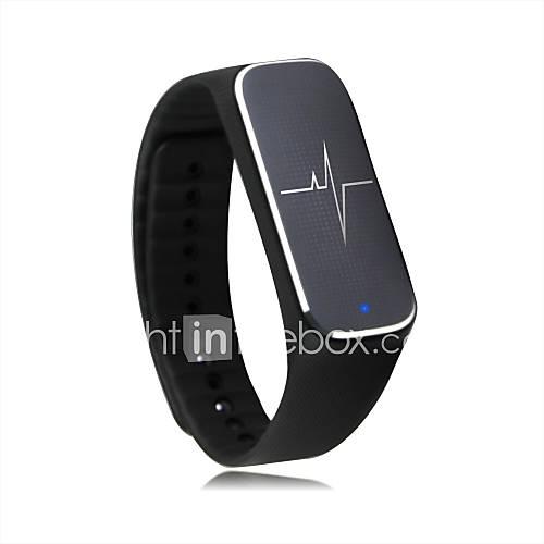 L18 tasa de respiración de la presión arterial de la frecuencia cardíaca del sueño de movimiento paso brazalete pulsera de la salud del Lightinthebox