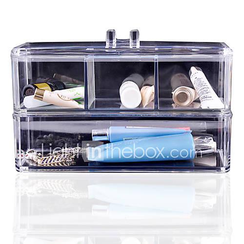 acrylique cosm 233 tiques organisateur maquillage bo 238 te de rangement en plastique cas acrylique