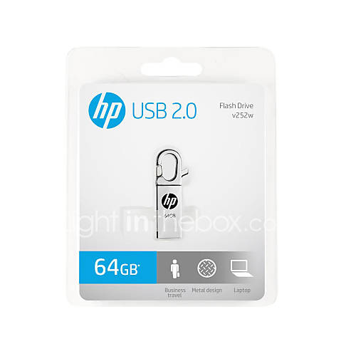 o-novo-hp-usb-x252w-de-metal-64gb-de-disco-criativo-u