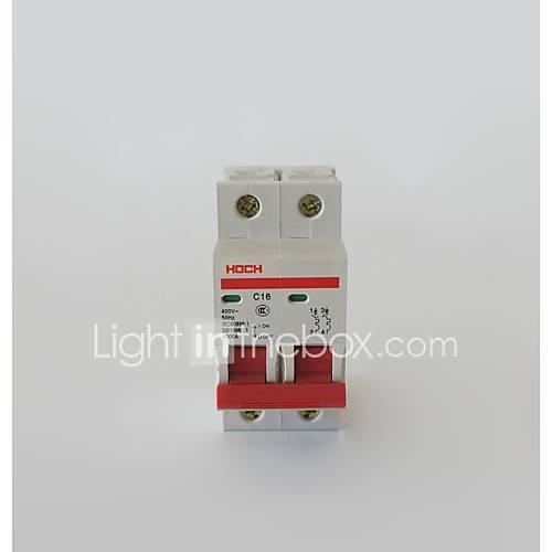 Miniature Circuit Breaker Switch Diode 2P Overload