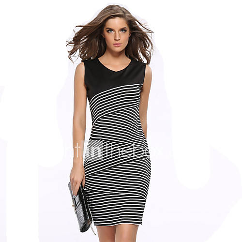 Women's Casual/Daily Simple / Sophisticated Bodycon Dress ... - photo#25