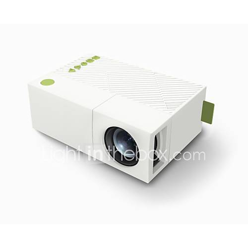 1080P Mini LCD Projector Portable Support AV/SD/USB/HDMI/VGA -YG310 Home Cinema Theater Interface Video Games Movie