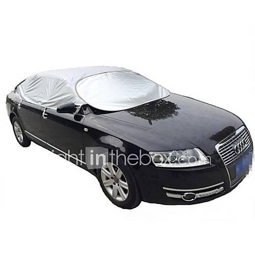Aluminum Car Cover : Car garment aluminum sunshade spf insulation