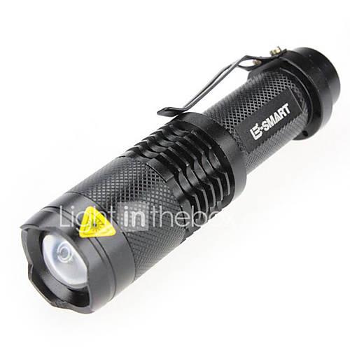 Iluminación Linternas LED / Linternas de Mano Laser 1000(lumens) Lumens 3 Modo - / LED 18650.0 A Prueba de AguaCamping/Senderismo/Cuevas Descuento en Lightinthebox