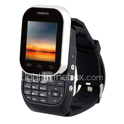 KENXINDA w1 ≤3 '' Android 5.1 Móvil Reloj (SIM Única Otro 0.8 MP <256MB  N/C Negro / Blanco) Descuento en Lightinthebox