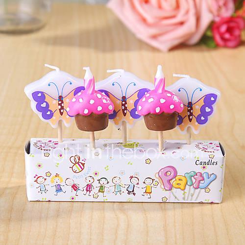 Partido velas de cumplea os decoraci n happybirthday - Decoracion con mariposas ...