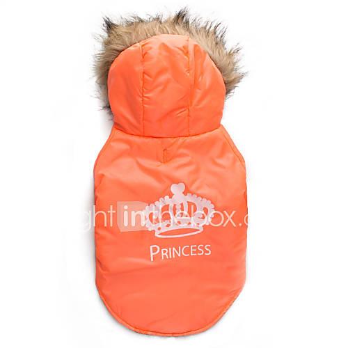 gatos-caes-casacos-camisola-com-capuz-laranja-roupas-para-caes-inverno-tiaras-e-coroas-mantenha-quente