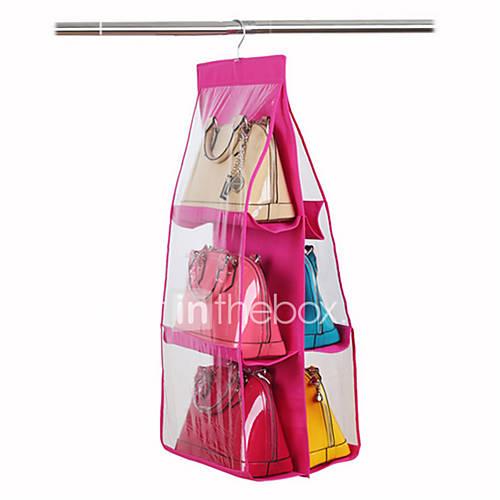 Sac rangement suspendu sac avec 6 couches de tissu de - Rangement penderie suspendu ...