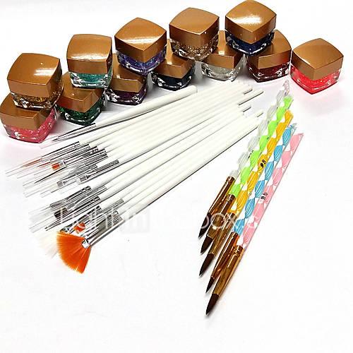 44-conjuntos-brilhantes-penas-de-fototerapia-pena-pintura