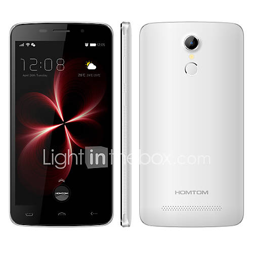 homtom HT17 Pro 5.5 ''Android 6.0 teléfono inteligente 4G (doble núcleo cuádruple sim 13 2gb mp  16gb negro / oro / blanco) Descuento en Lightinthebox