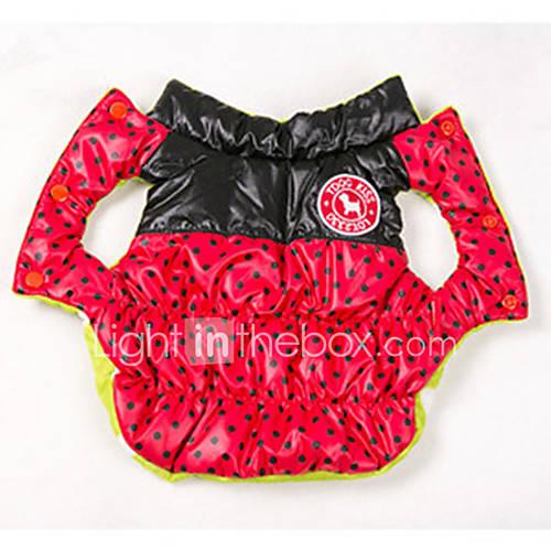 cachorro-casacos-colete-roupas-para-caes-algodao-primavera-outono-inverno-mantenha-quente-reversivel-pontos-polka-preto-amarelo-rosa