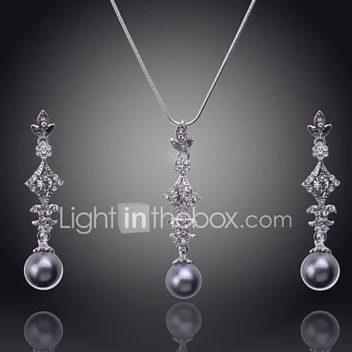 Joyas Collares / Pendientes Collar / pendientes / Los sistemas nupciales de la joyería / ConjuntoSexy / Borla / De Moda / Cosecha / Descuento en Lightinthebox