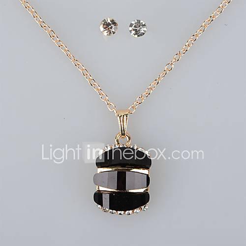 Joyas Collares / Pendientes Juego de Joyas / Collar / pendientes / Los sistemas nupciales de la joyería / ConjuntoCosecha / Ajustable / Lightinthebox