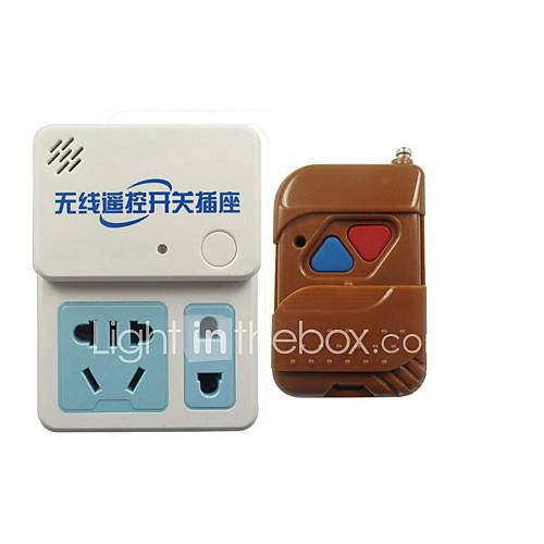 aoke-electronics-cabeada-others-wireless-remote-control-socket-branco