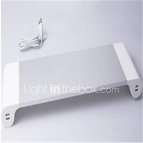 oem-cabeada-others-intelligent-computer-monitor-bracket-4usb-branco