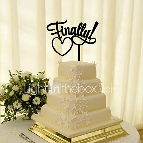 Cake Topper Personalized Classic Couple Light In The Box