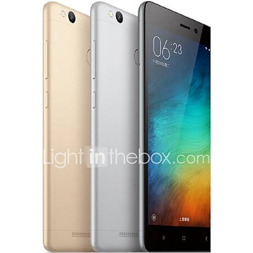 Redmi 3S 5.0 '' MIUI Smartphone 4G (SIM Dual Octa Core 13 MP 2GB  16 GB Gris / Oro / Plata) Descuento en Lightinthebox