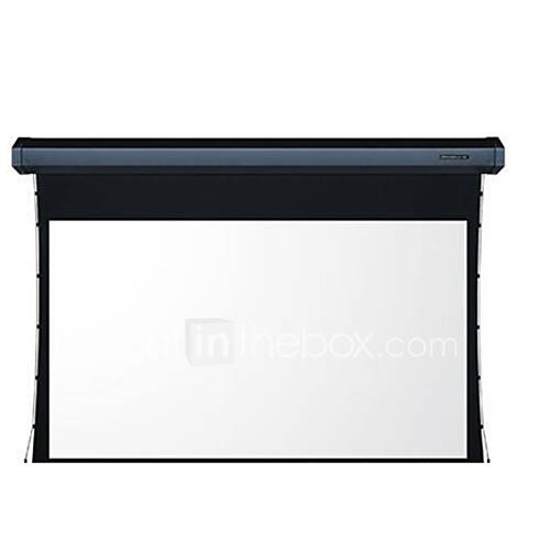 Family expenses 84 100 inch electric projector screen for 100 inch motorized projector screen