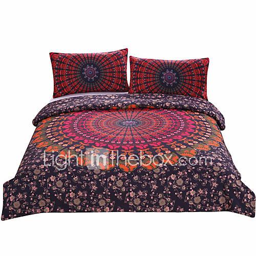 BeddingOutlet Mandala Bedding Concealed Bedspread Duvet