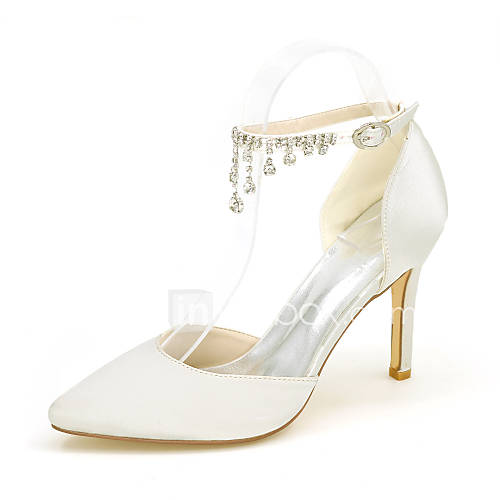 Women's Heels Spring / Summer / Fall Heels / Pointed Toe Silk Wedding / Party  Evening