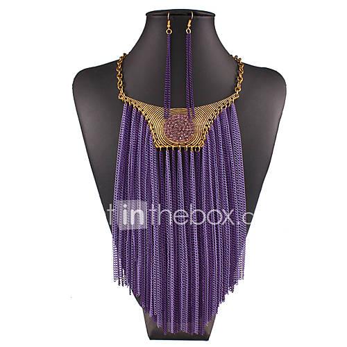 joias-colares-brincos-colar-brincos-sexy-borlas-moderno-casamento-pesta-diario-casual-1conjunto-feminino-douradopresentes