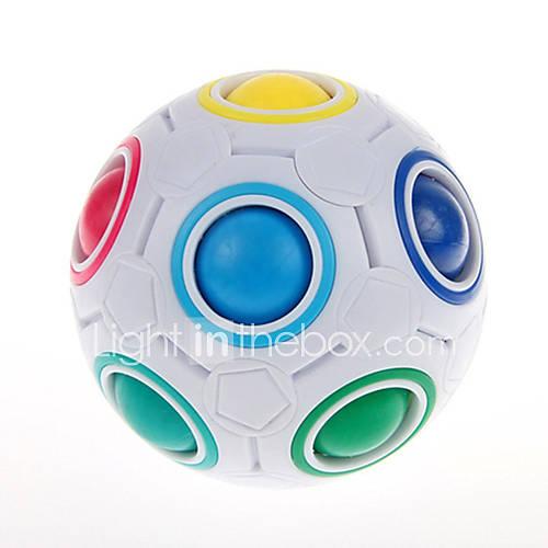 Rubik's Cube YongJun Magic Rainbow Ball Smooth Speed Cube Magic Rainbow Ball Puzzle Ball Puzzle Cube Professional Level Speed Gift